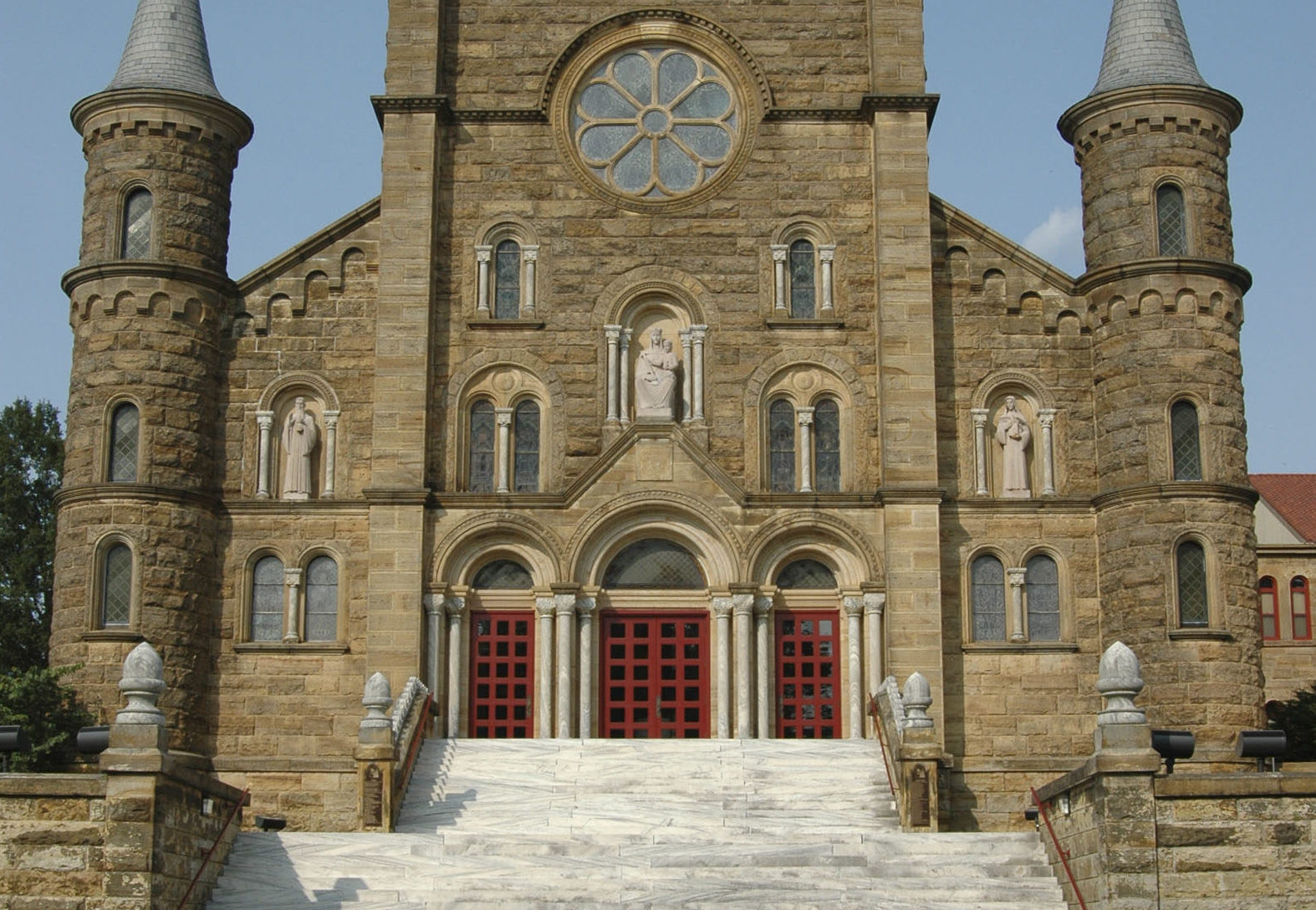 saint meinrad black dating site It is the site where,  they are robed in heavily embroidered white and black mantles  a brother meinrad, in 840,.