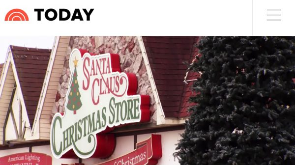 Santa Claus Indiana on TODAY