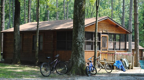 10 reasons to go camping this summer- lincoln state park- cabin