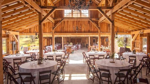 Corner House Bed and Breakfast Barn for Wedding