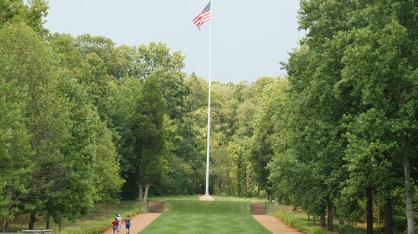 Lincoln Boyhood National Memorial Flag Pole