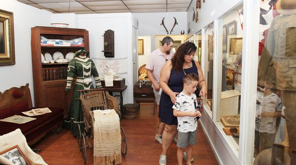 Visit a museum Lincoln Pioneer Village and Museum Summer