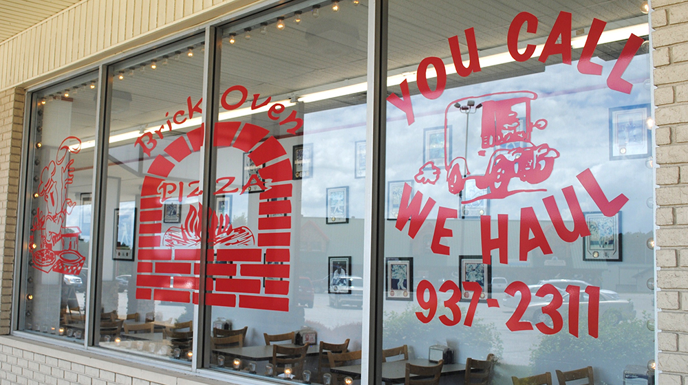 Brick Oven Pizza Fall Exterior Photo