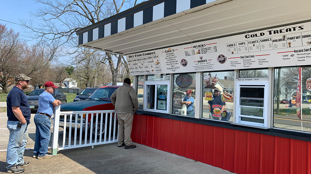 Fat Daddy's Grill and Chill Exterior Fall