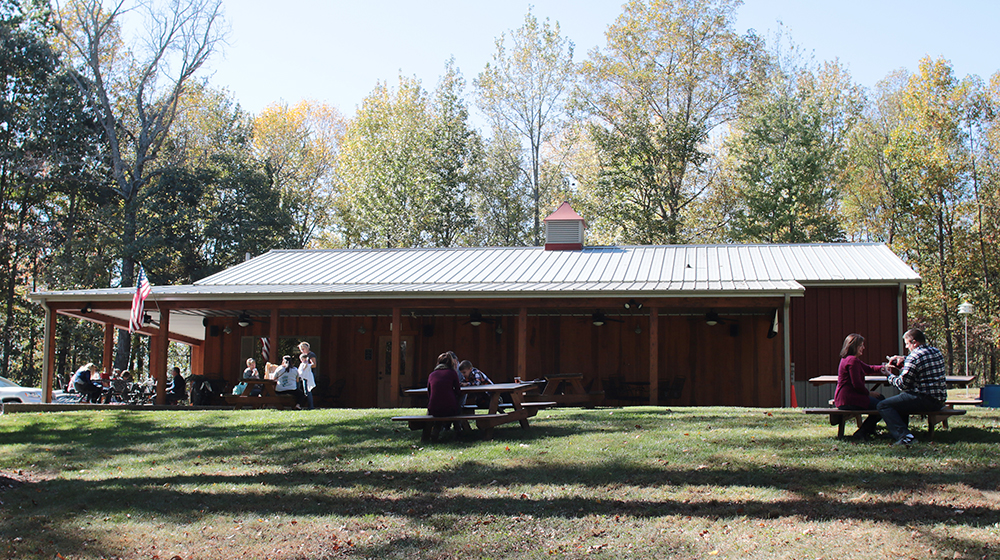 Peppers Ridge Winery Fall Exterior