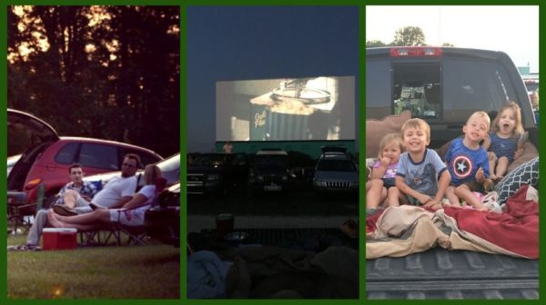 Scenes from Holiday Drive-In Movie Theater