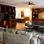Living room at Mistletoe Manor vacation rental