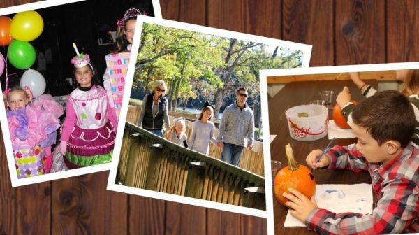 Pictures of fall and Halloween activities